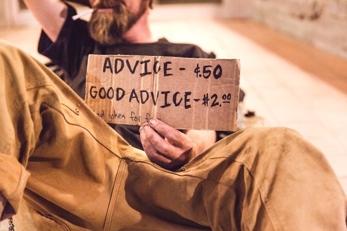 advice for sale
